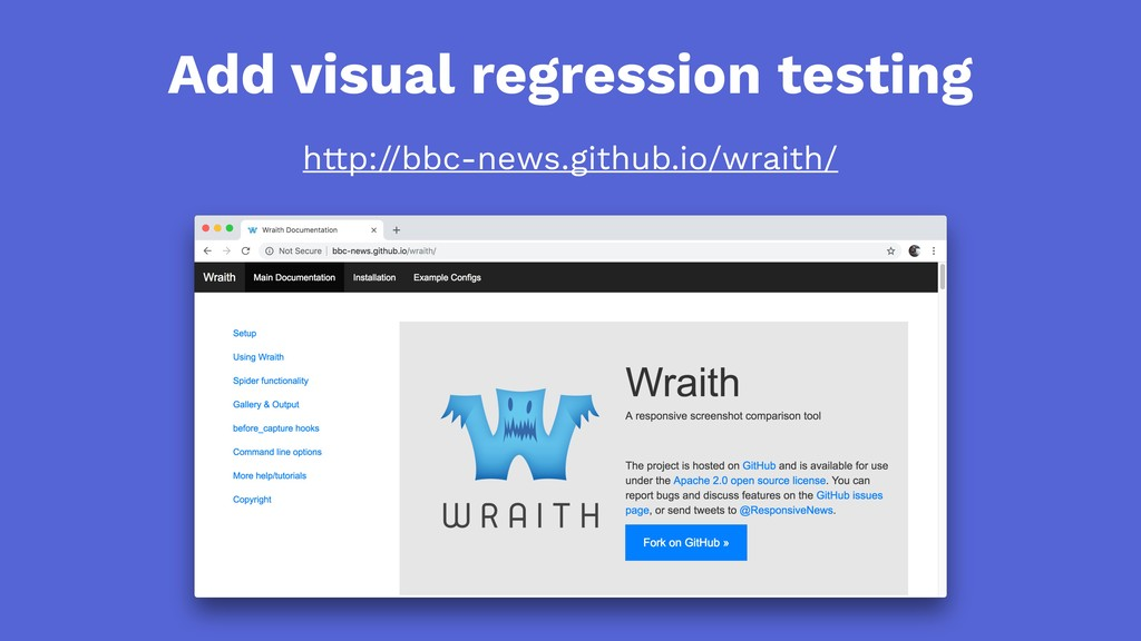 Add visual regression testing http://bbc-news.g...