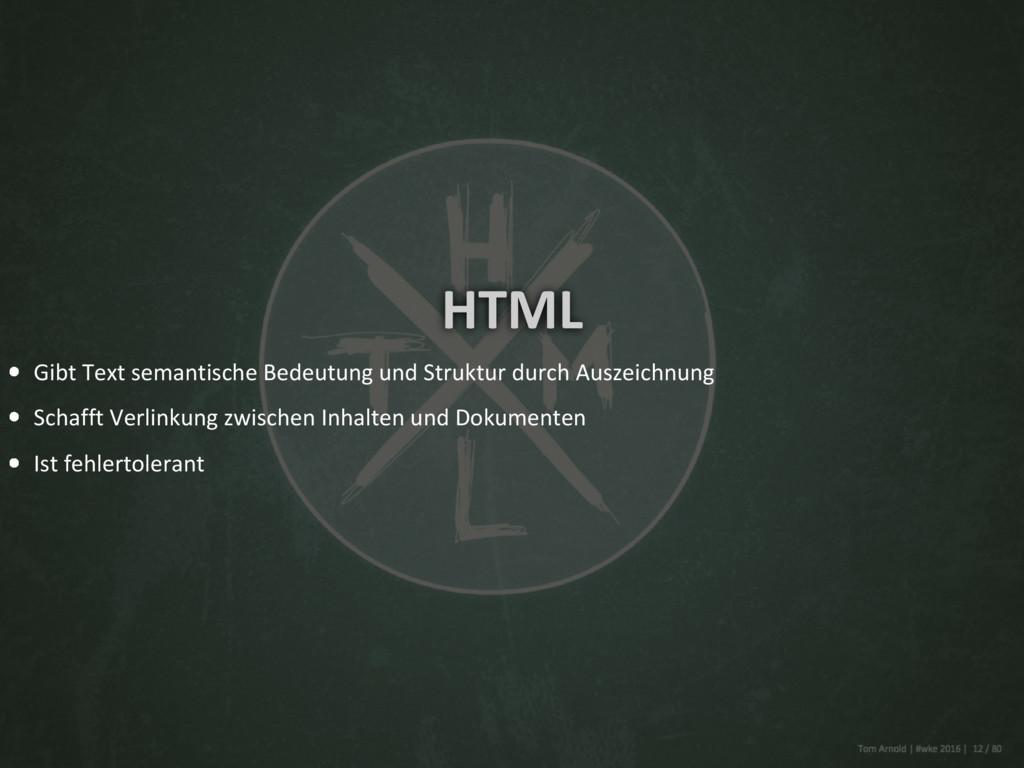HTML Gibt Text semantische Bedeutung und Strukt...