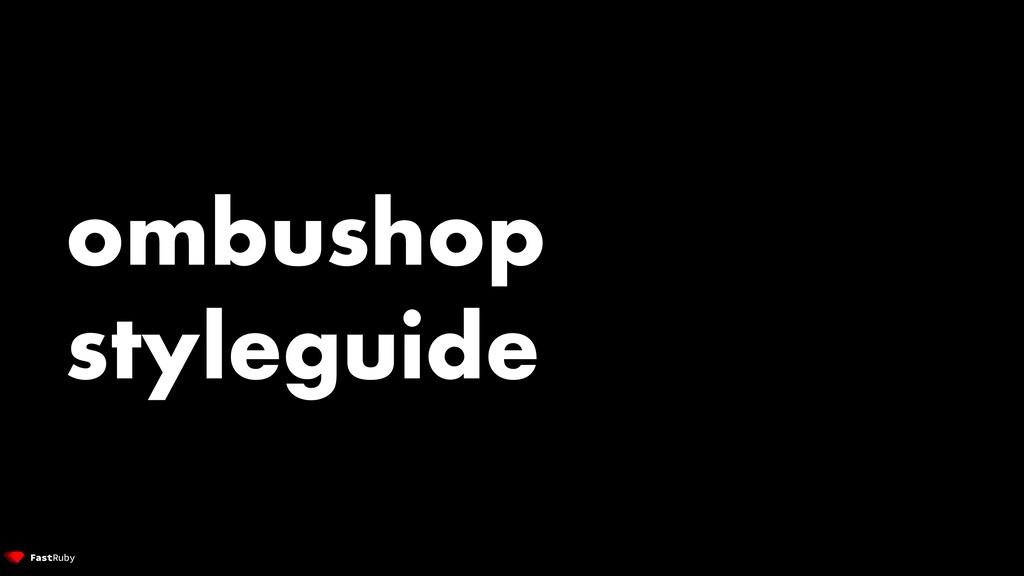 ombushop styleguide