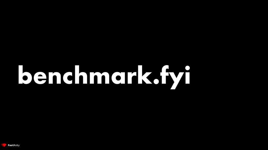benchmark.fyi