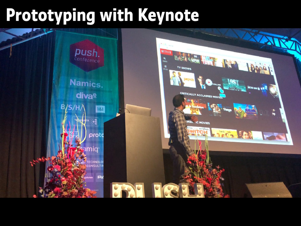 Prototyping with Keynote