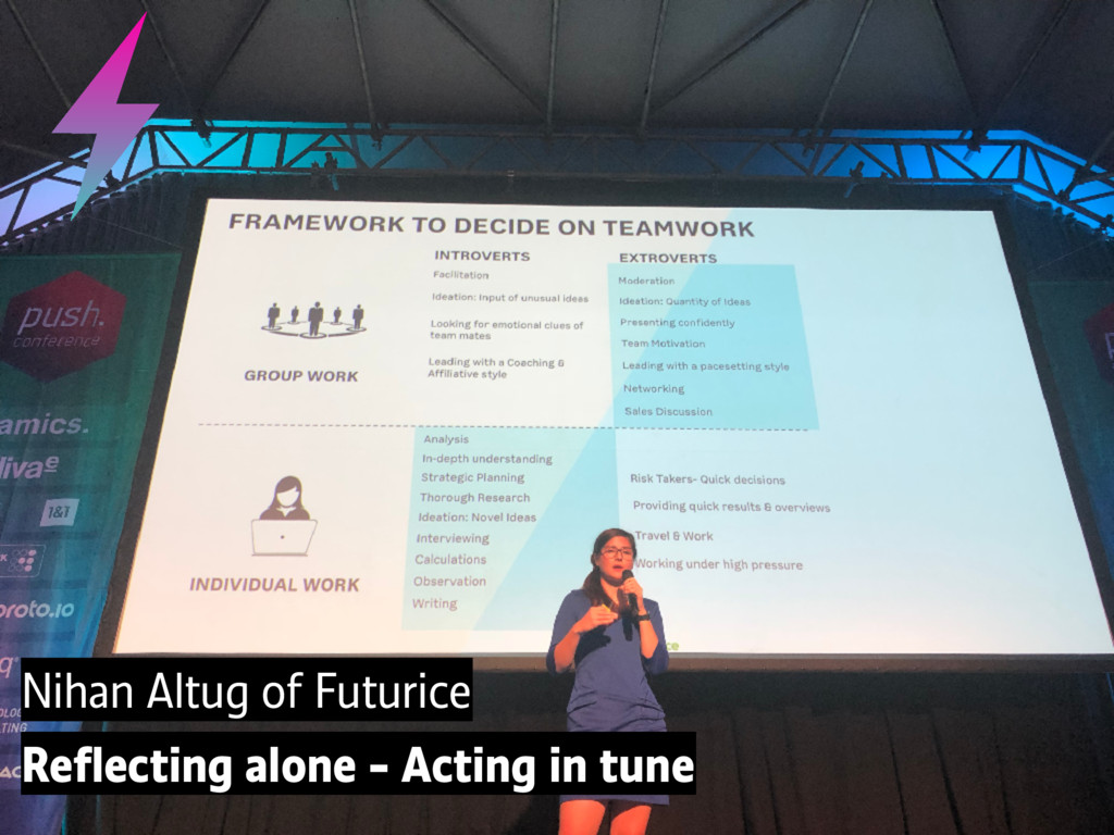 Nihan Altug of Futurice Reflecting alone - Actin...