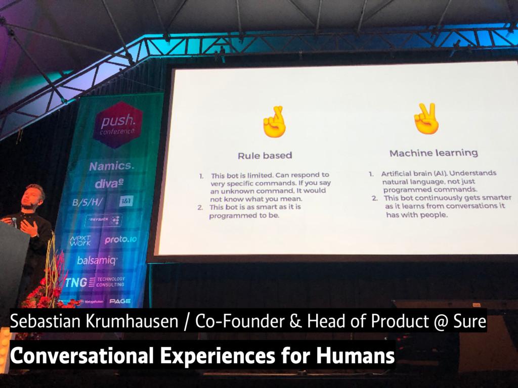 Sebastian Krumhausen / Co-Founder & Head of Pro...