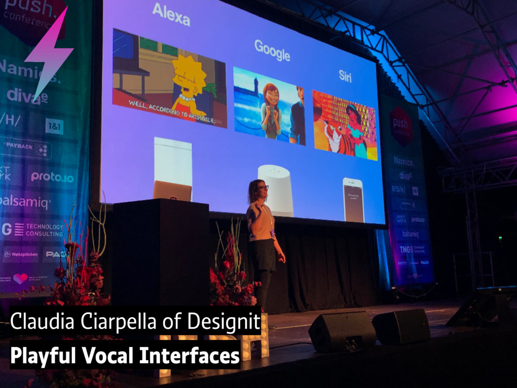 Claudia Ciarpella of Designit Playful Vocal Int...