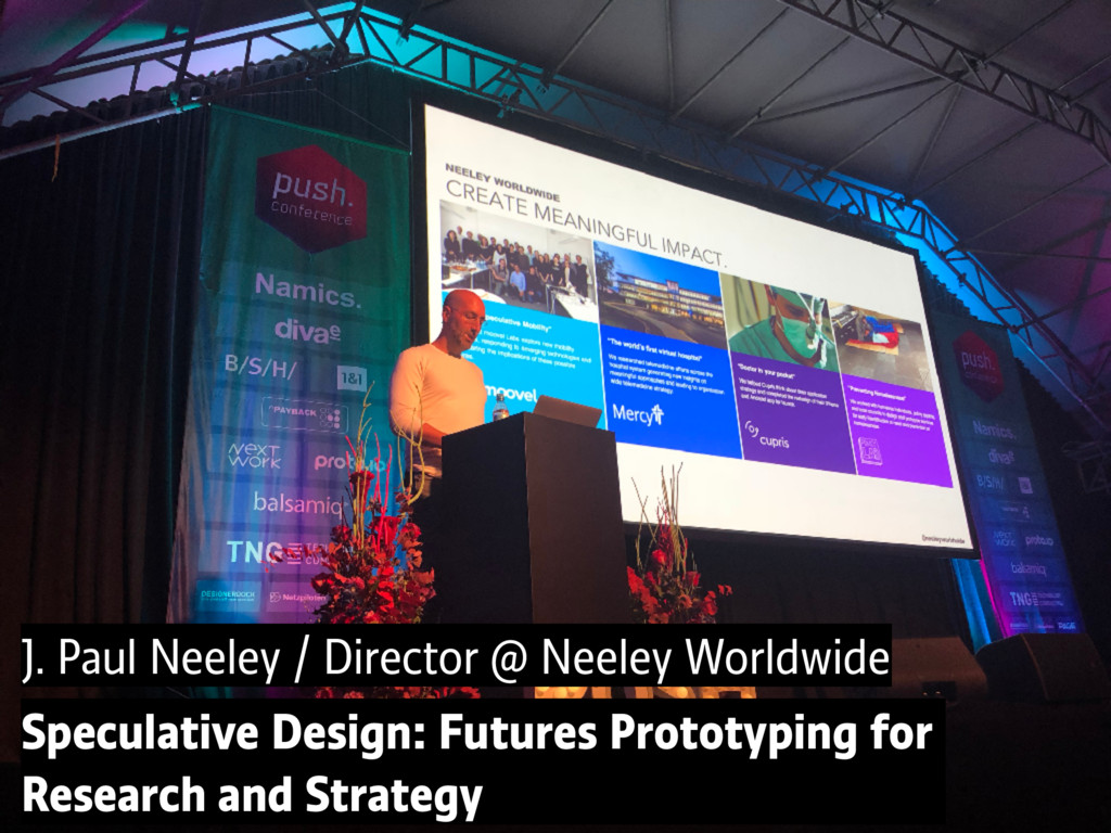 J. Paul Neeley / Director @ Neeley Worldwide Sp...