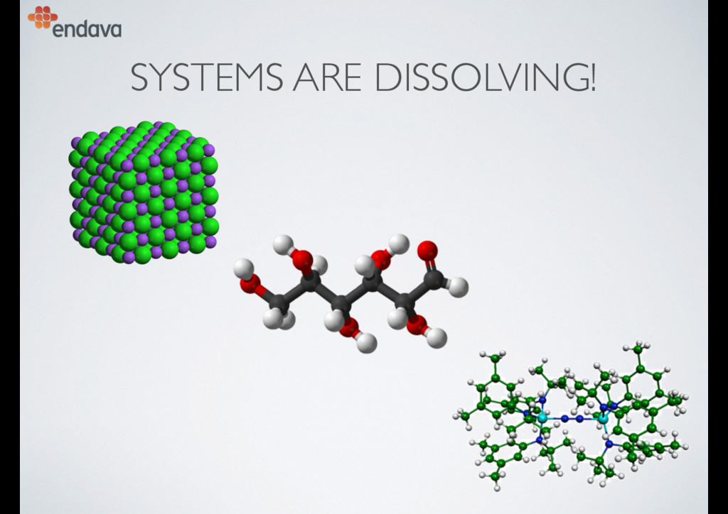 SYSTEMS ARE DISSOLVING!