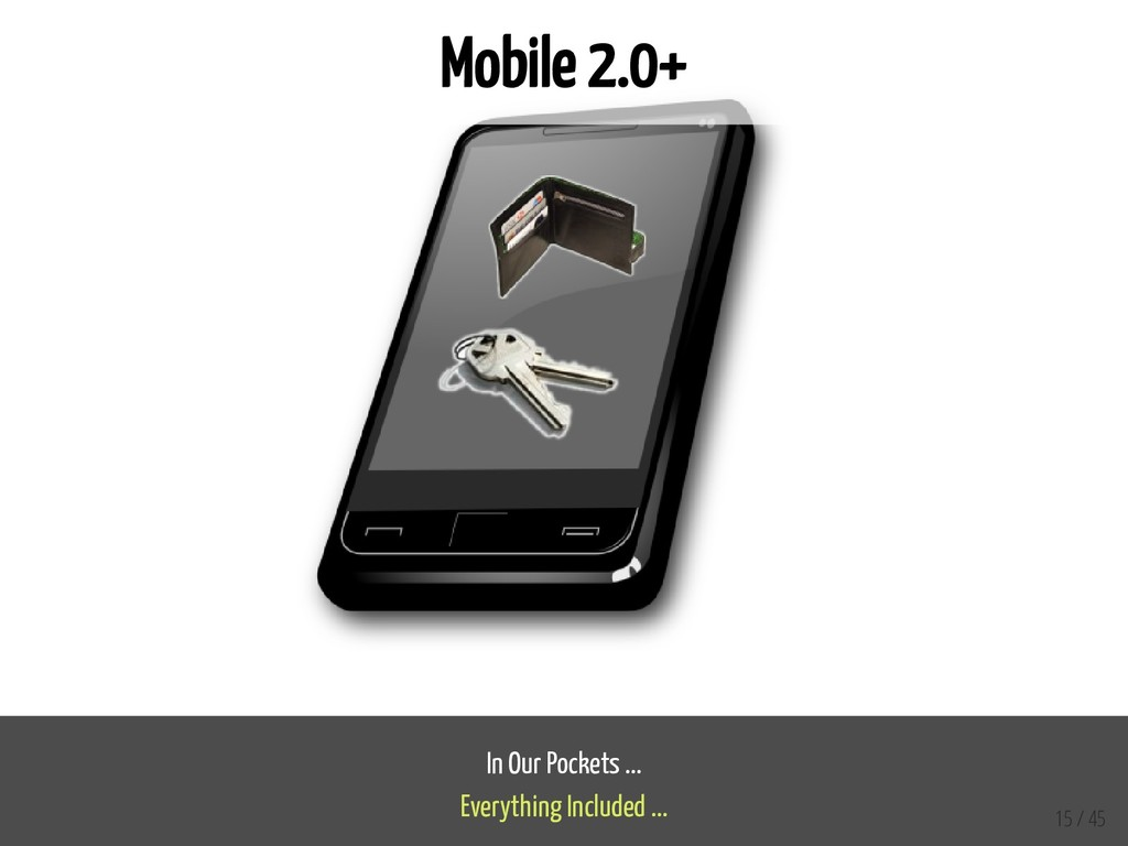 Mobile 2.0+ In Our Pockets ... Everything Inclu...