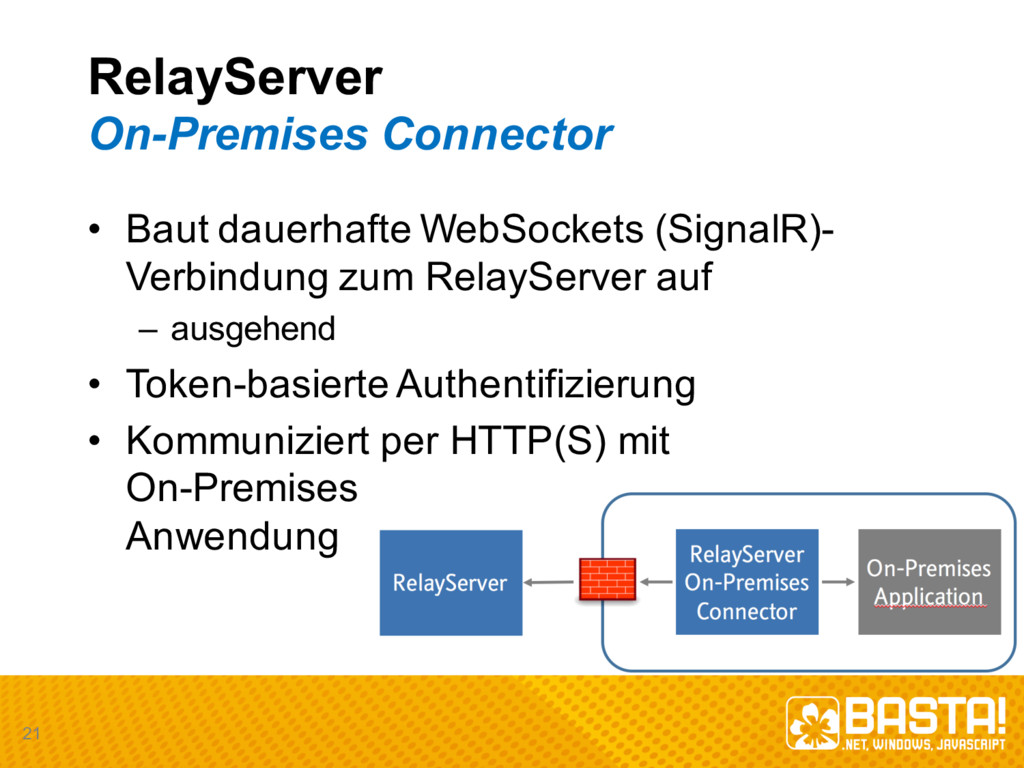 RelayServer On-­Premises  Connector • Baut daue...