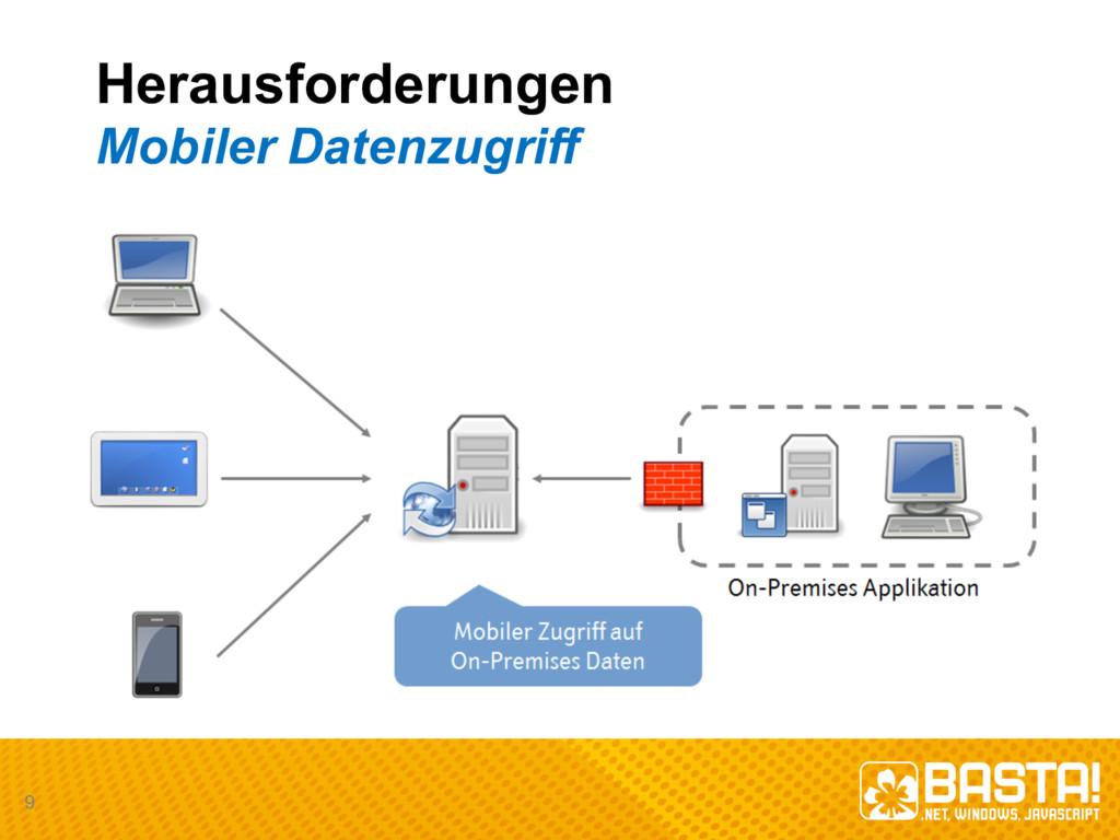 Herausforderungen Mobiler Datenzugriff 9