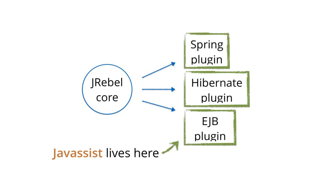Javassist lives here Spring plugin Hibernate pl...