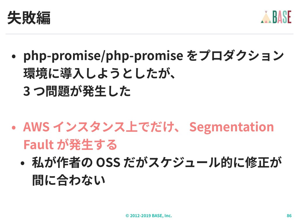 © - BASE, Inc. php-promise/php-promise  3 AWS ...