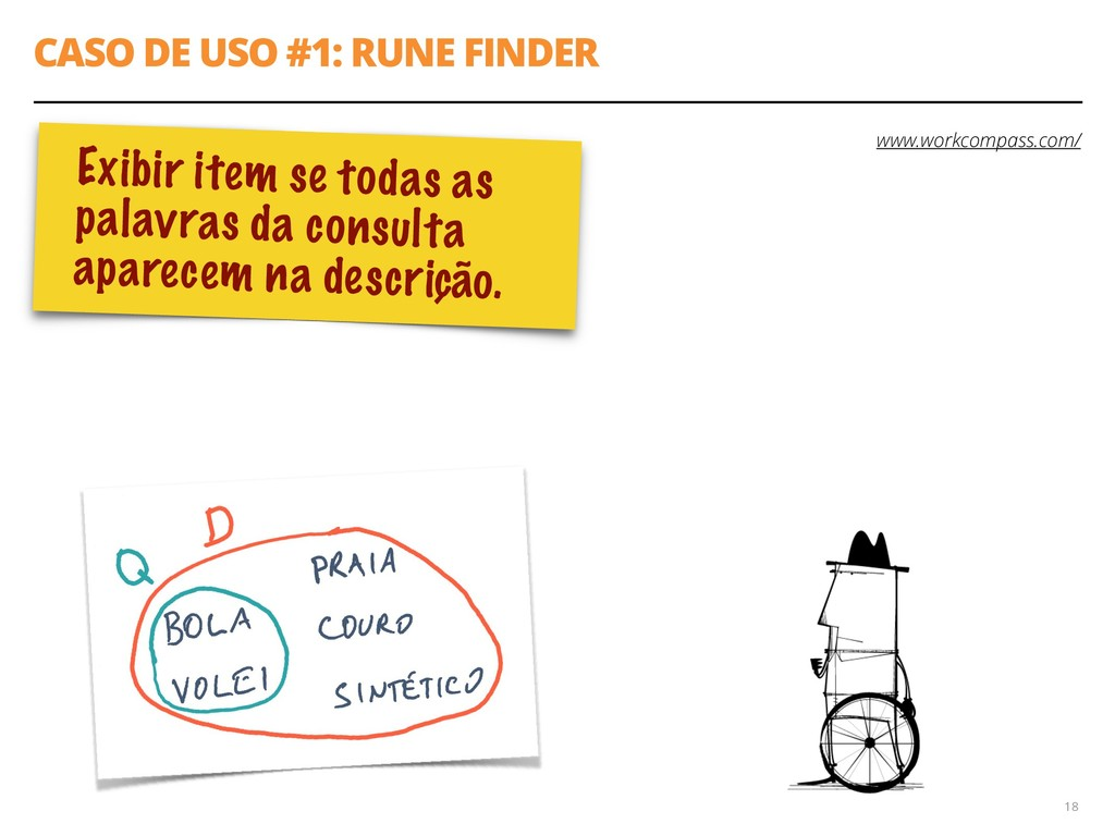 CASO DE USO #1: RUNE FINDER 18 www.workcompass....