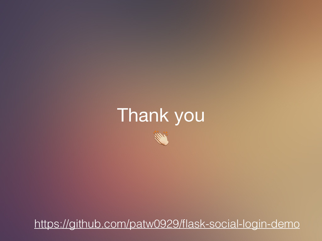 Thank you  https://github.com/patw0929/flask-soc...