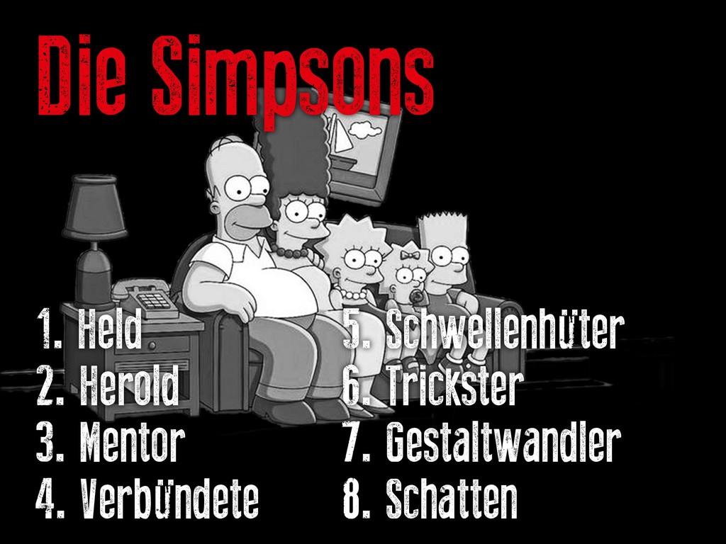 Die Simpsons 1. Held   5. Schwellenhüte...