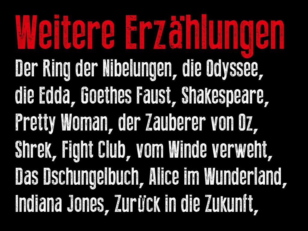 Weitere Erzählungen Der Ring der Nibelungen, di...