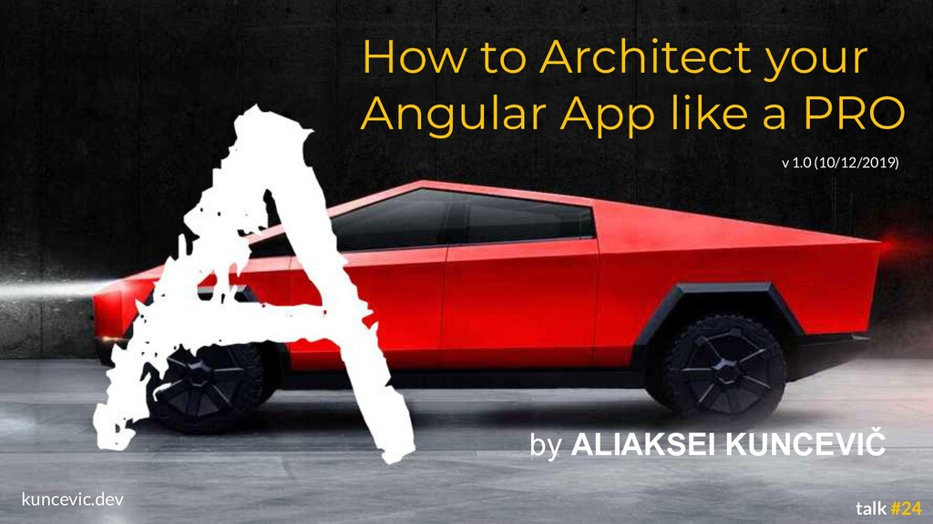 kuncevic.dev How to Architect your Angular App ...