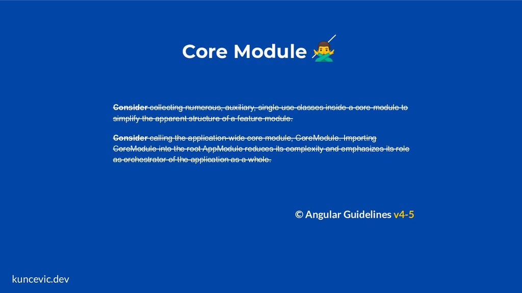 kuncevic.dev Core Module ♂ Consider collecting...