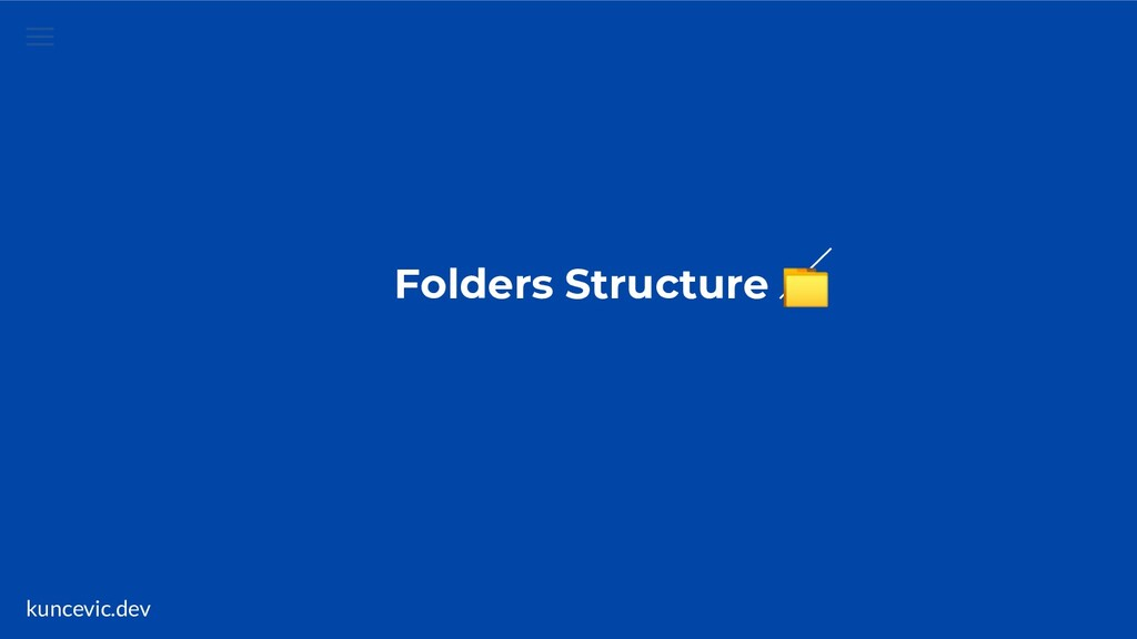 kuncevic.dev Folders Structure
