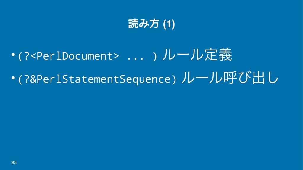 ಡΈํ (1) •(?<PerlDocument> ... ) ϧʔϧఆٛ •(?&PerlS...
