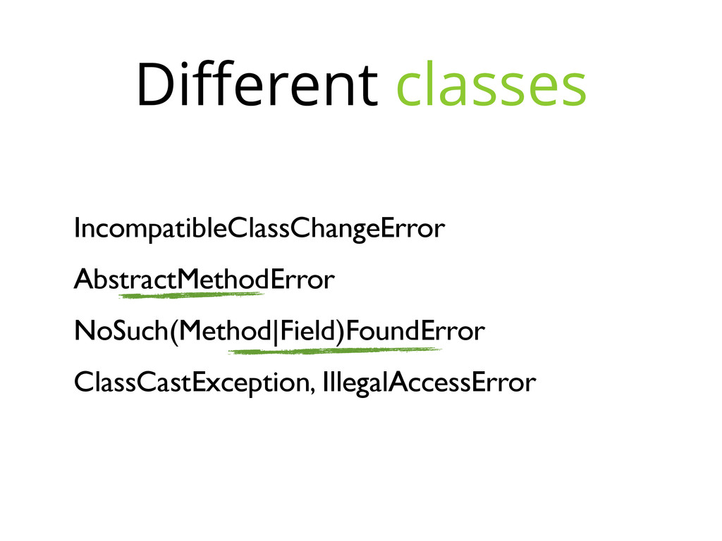 IncompatibleClassChangeError AbstractMethodErro...