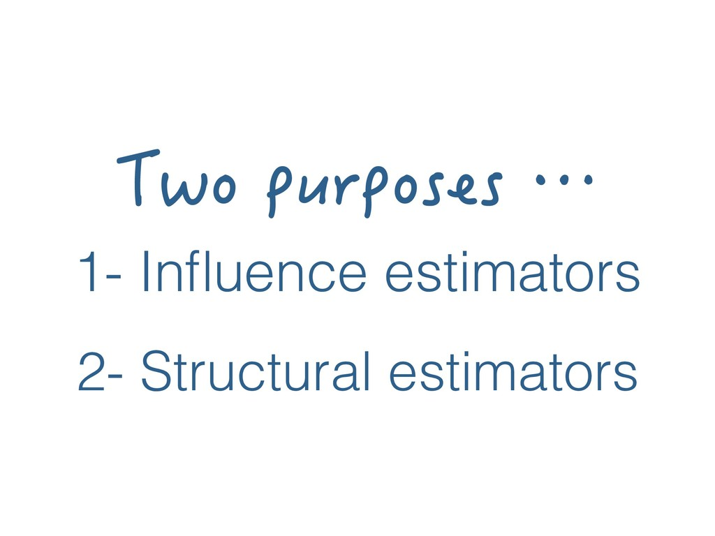 6YQRWTRQUGUŎ 1- Influence estimators 2- Struct...