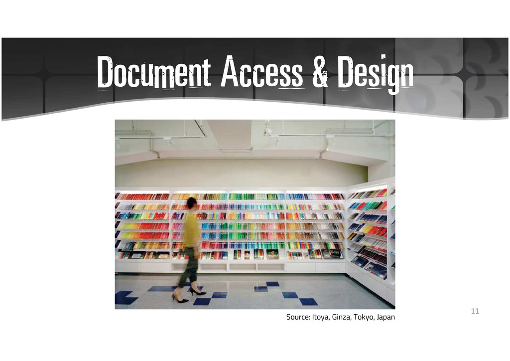 Document Access & Design Source: Itoya, Ginza, ...