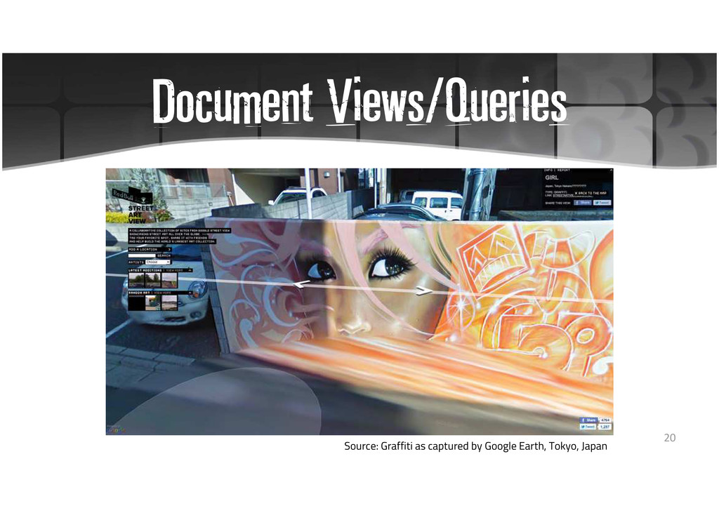 Document Views/Queries Source: Graffiti as capt...