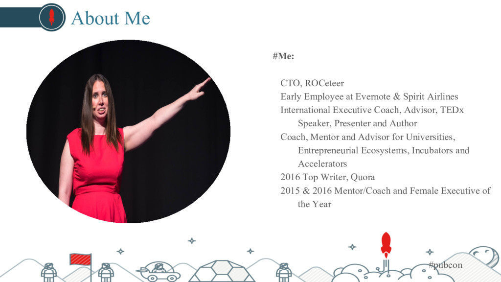 About Me #Me: CTO, ROCeteer Early Employee at E...
