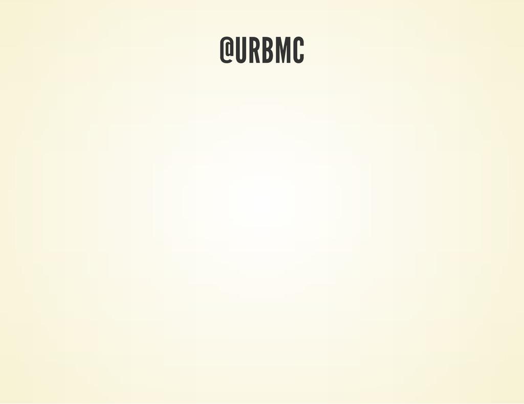 @URBMC