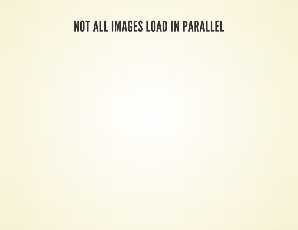 NOT ALL IMAGES LOAD IN PARALLEL