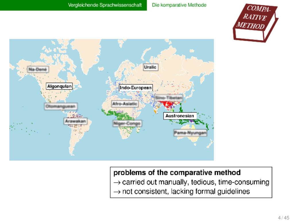 Vergleichende Sprachwissenschaft Die komparativ...