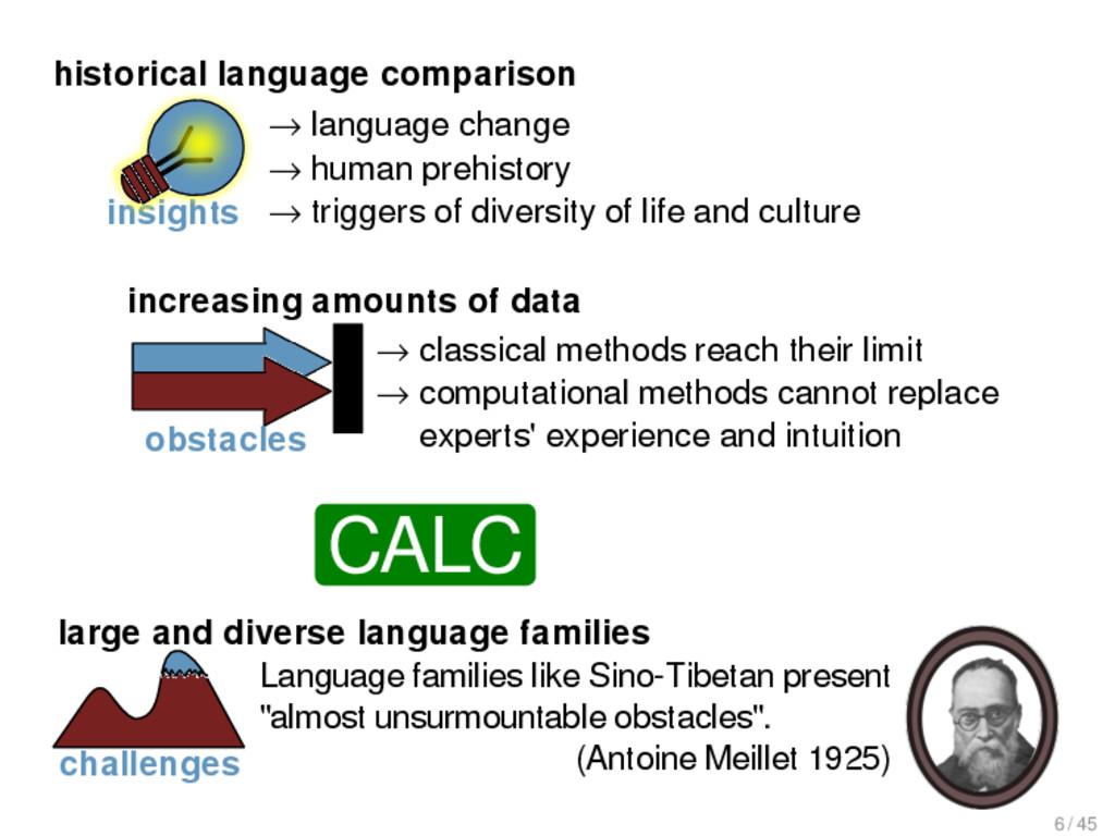 "Language families like Sino-Tibetan present ""al..."