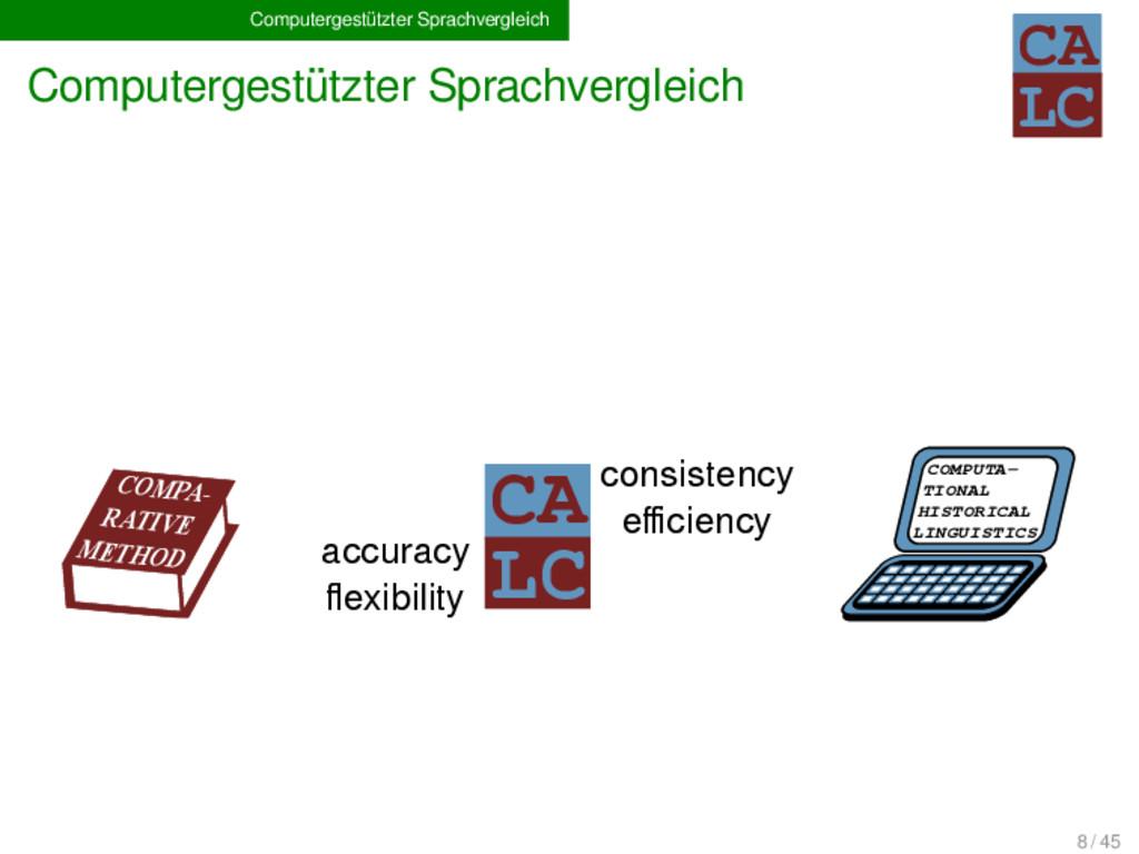 Computergestützter Sprachvergleich Computergest...
