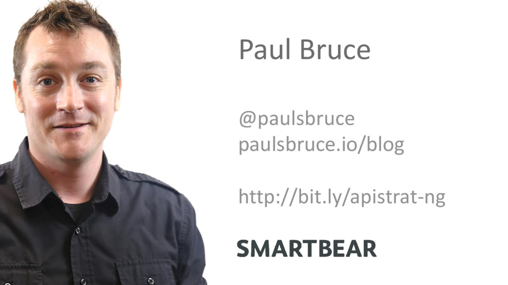 Paul Bruce @paulsbruce paulsbruce.io/blog http:...