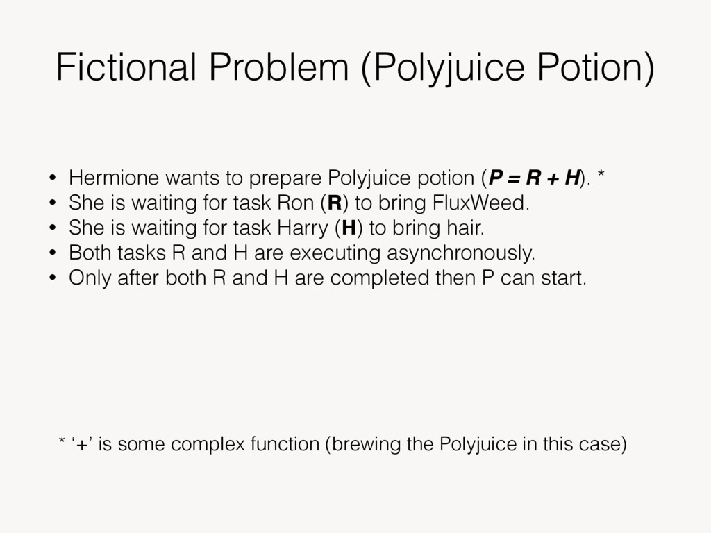 Fictional Problem (Polyjuice Potion) • Hermione...