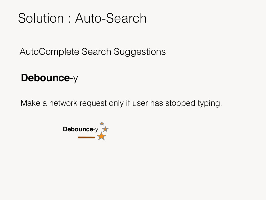 AutoComplete Search Suggestions Debounce-y Make...