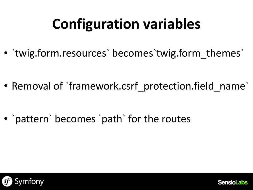 Configuration	