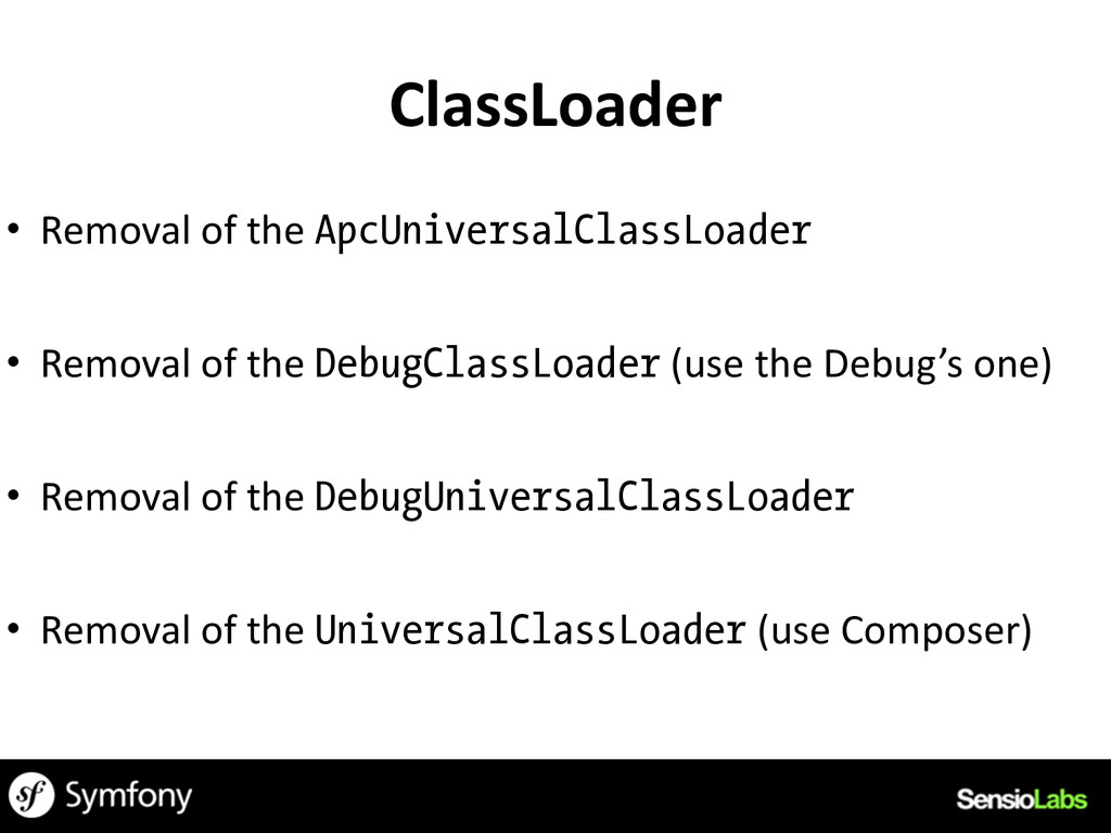 ClassLoader • Removal	