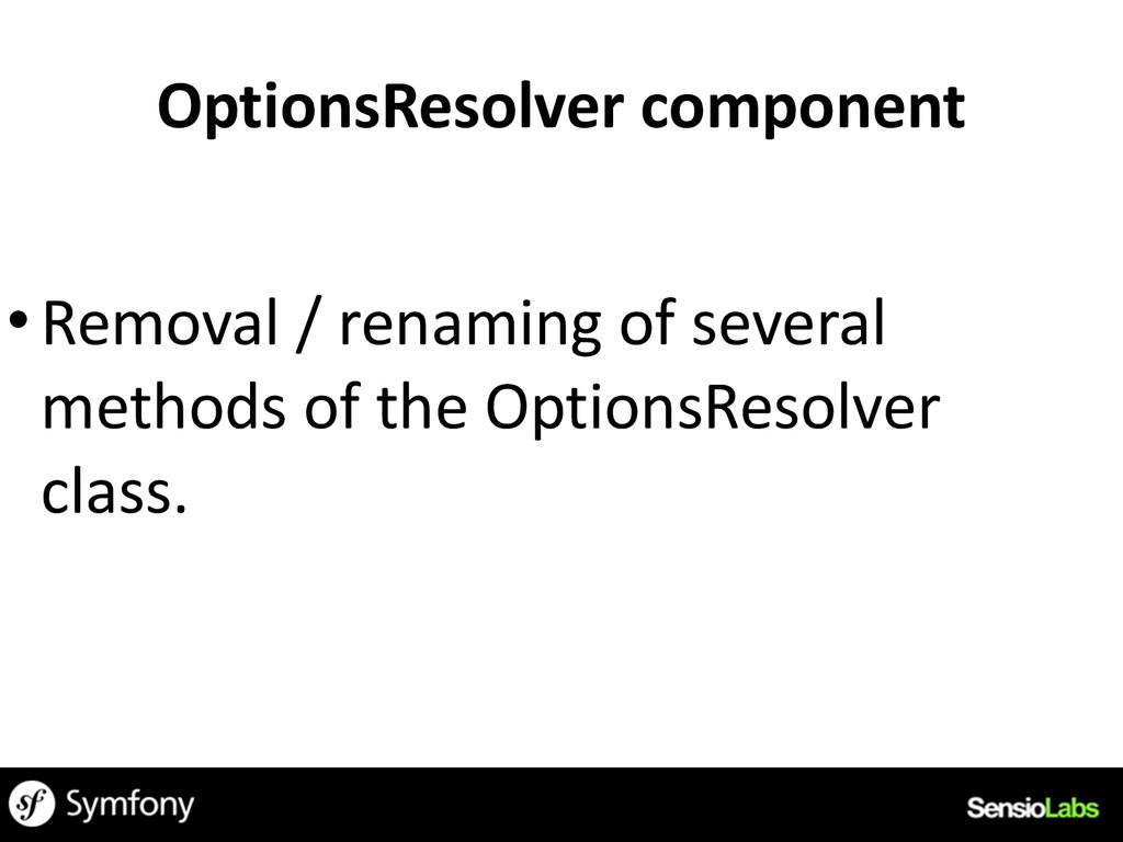 OptionsResolver	