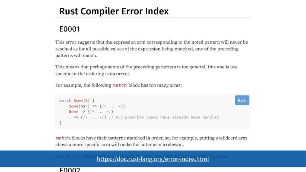 https://doc.rust-lang.org/error-index.html