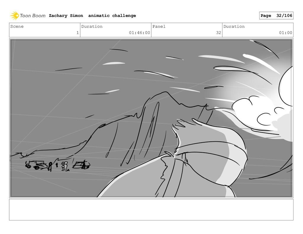 Scene 1 Duration 01:46:00 Panel 32 Duration 01:...