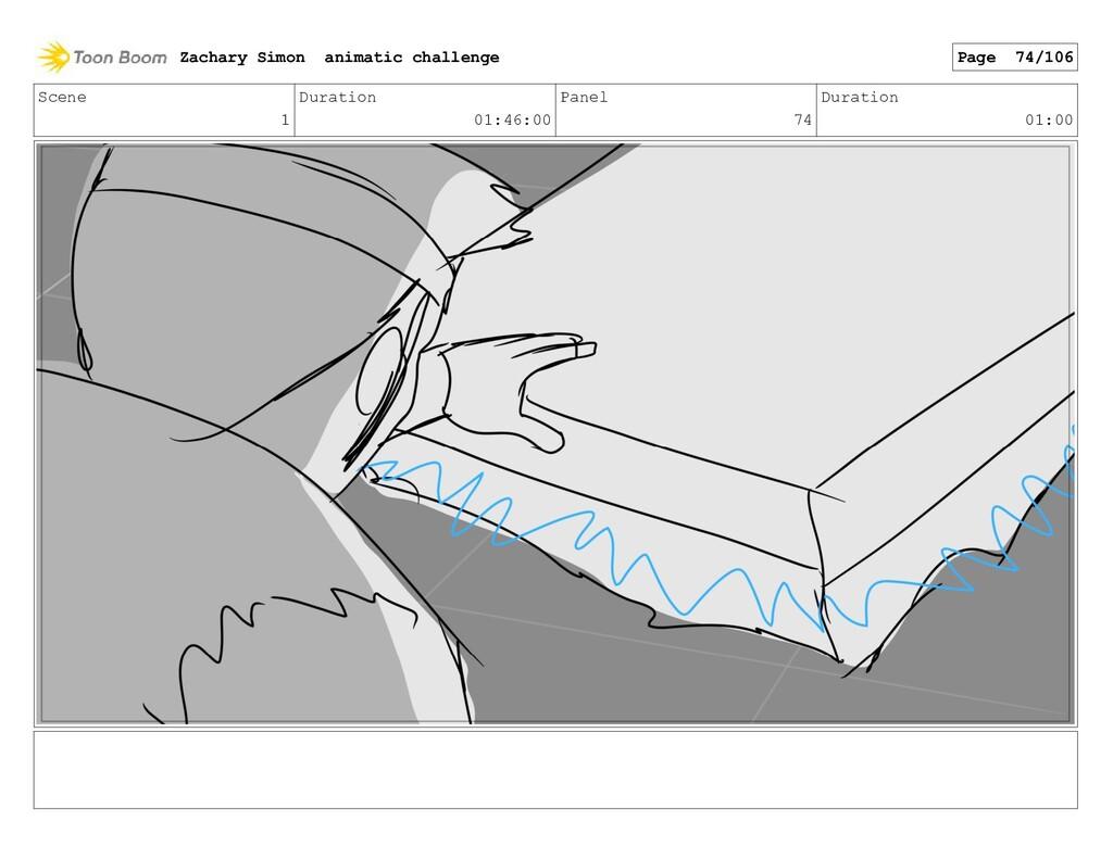 Scene 1 Duration 01:46:00 Panel 74 Duration 01:...