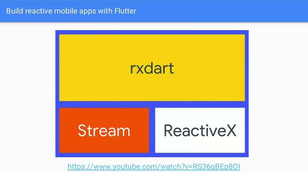 Build reactive mobile apps with Flutter https:/...