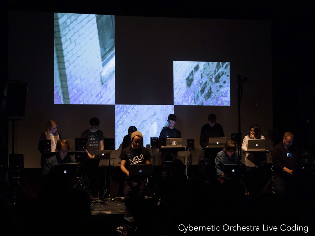 Cybernetic Orchestra Live Coding