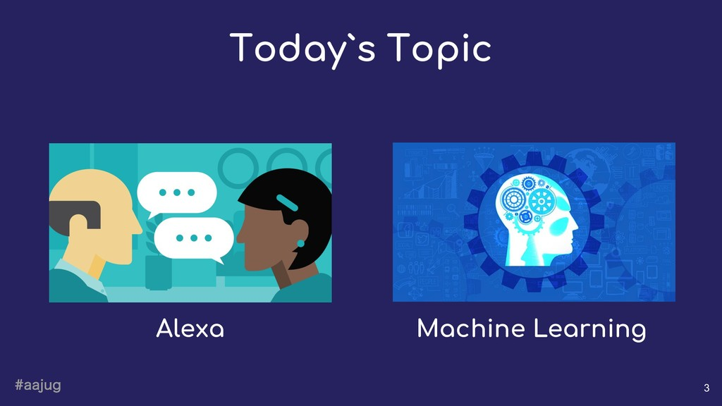 BBKVH 3 Today`s Topic Alexa Machine Learning