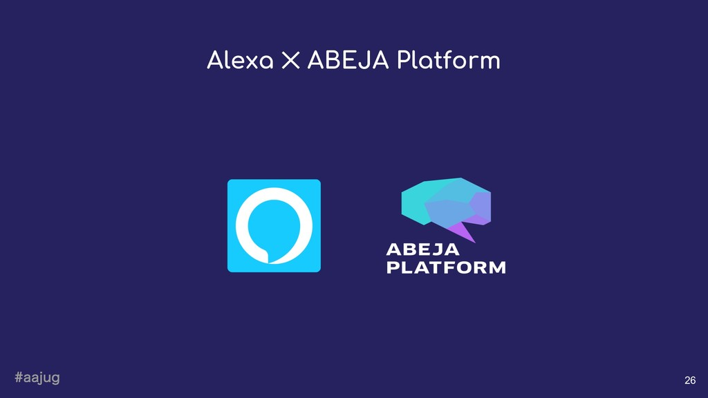 BBKVH 26 Alexa ✕ ABEJA Platform