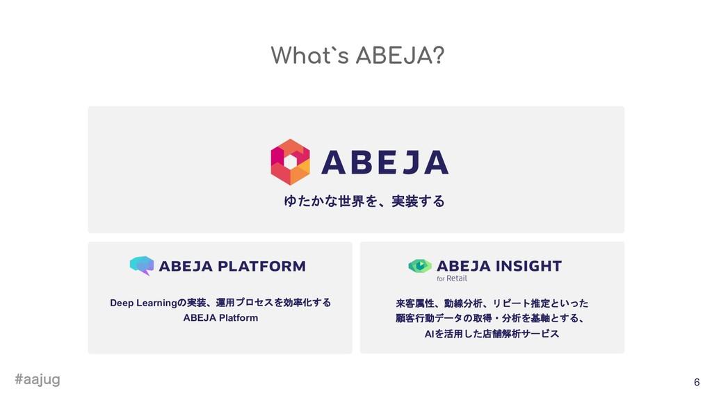 BBKVH 6 Deep Learningの実装、運用プロセスを効率化する ABEJA Pl...