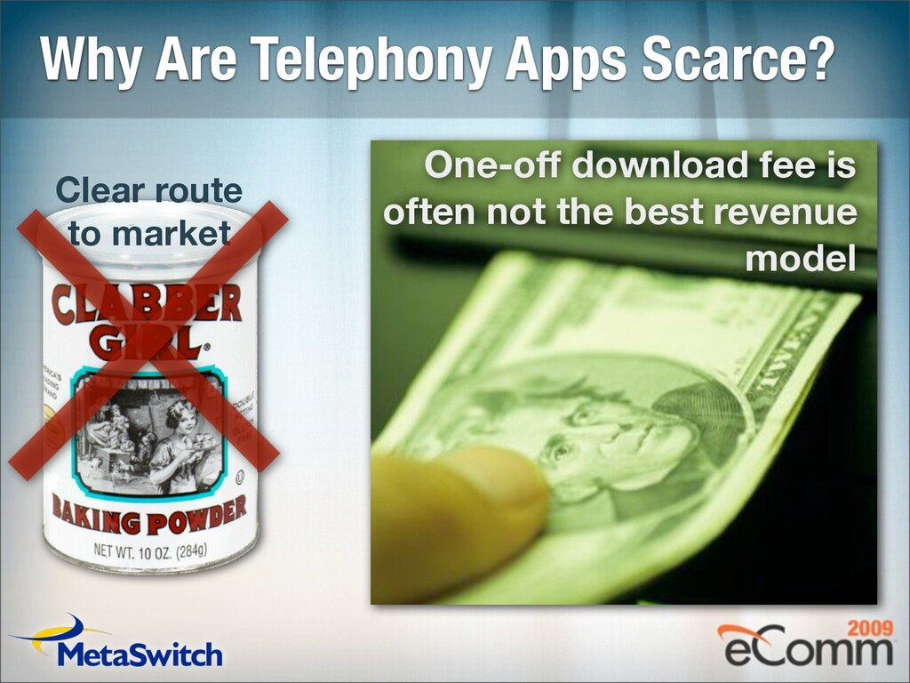 Why Are Telephony Apps Scarce? Clear route to m...