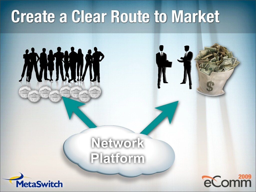 Create a Clear Route to Market Network Platform