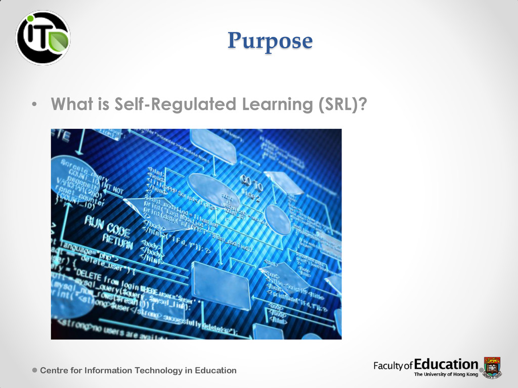 • What is Self-Regulated Learning (SRL)? Centre...